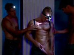 Gay muscley hot hunks with head lights
