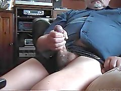 Old Fat Man Jerking 2