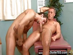 Patient Phenix gets examined by hot Roman