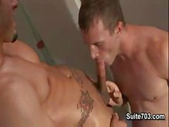 Suite703 - Men Hard At Work - Cameron Adams & Phenix Saint