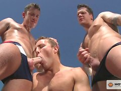 Alex Andrews,Boston Miles and Parker London in a hot