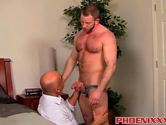 Shay Michaels fucks his annoying boss Brian in his asshole