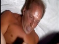 Self Cum Eating Scenes With Messy Facials