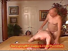 Teen girls fuck Bi Grand Father
