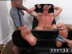 Asian twink lady boy gay sex Connor Maguire Jerked & Tickle
