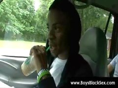Blacks Thugs Breaking Down Sissy White Boys Hard 09