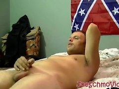 Sexy ass Jason whips his fat cock out for Joe to suck it