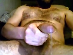 Str8 Guy with Juicy Tight Foreskin cums on cam 102