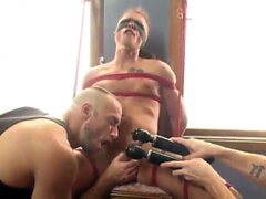 Rob Ryder Bi Southern Hunk Gets His First Edging In Bondage