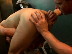 "Steven Daigle and Conner Habib - scene from ""Piss On Me"""