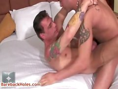 Sage Daniels and Ray Boy in gay bareback