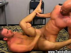Gay cock Muscle Top Mitch Vaughn Slams Parker Perry