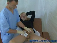 Russian twink physical exam - Isak