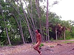 Naked Outdoor Dancer