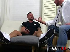 Uk guys in boxers gay porn Dolf's Foot Doctor Hugh Hunter