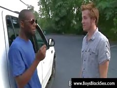 Blacks Thugs Breaking Down Sissy White Boys Hard 05