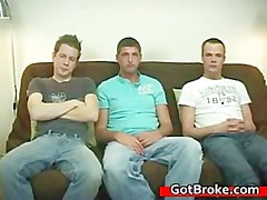 Blake, Jeremy & Austin gay threesome gay part5
