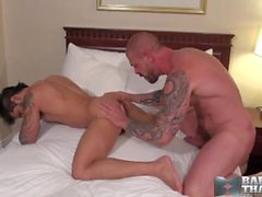 Muscled Hardcore Fuckers--Draven Torres and Rocco Steele
