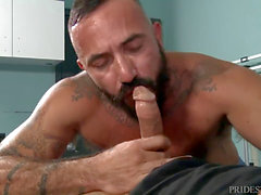 Extra thick fuck-sticks Alessio Romero Taking Jace Chambers hefty Member