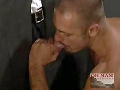 Glory Holes of Chicago with Hot Straight Man ANDREW SAKS Sucking Dick!