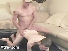 Zack gets his super tight ass barebacked part2