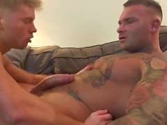 Billy fucking with friend in room